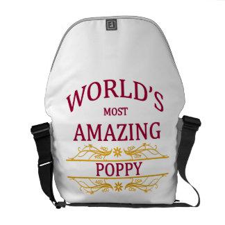 Amazing Poppy Messenger Bag