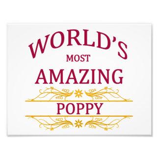 Amazing Poppy Photo Print