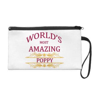 Amazing Poppy Wristlet Purse