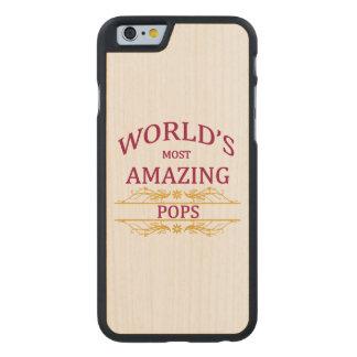Amazing Pops Carved Maple iPhone 6 Slim Case