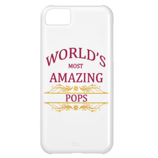 Amazing Pops iPhone 5C Cover
