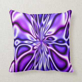 Amazing Purple Floral Bloom Mojo Pillow