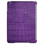 Amazing Purple Gator Print Cover For iPad Air
