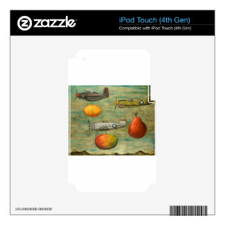 amazing race 7 iPod touch 4G decals