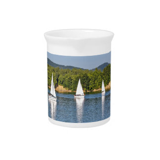 amazing sailing boats drink pitcher