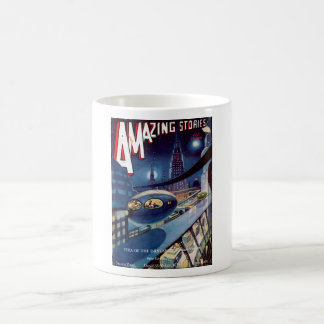 Amazing Science Fiction Stories 1932_Pulp Art Coffee Mug
