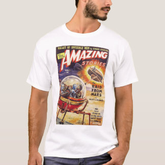 Amazing Science Fiction Stories 1939_Pulp Art T-Shirt