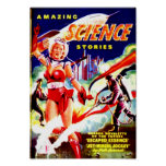 Amazing Science Stories Poster