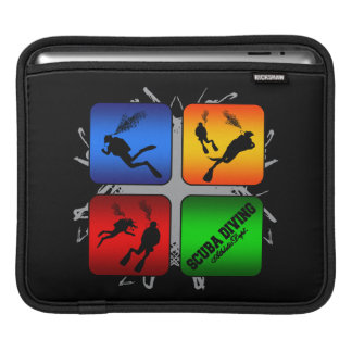 Amazing Scuba Diving Urban Style Sleeve For iPads