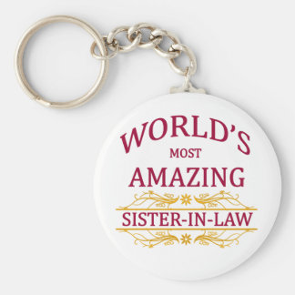 Amazing Sister-In-Law Keychain