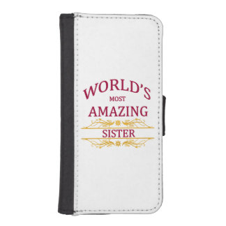 Amazing Sister iPhone SE/5/5s Wallet
