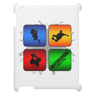 Amazing Skateboarding Urban Style Case For The iPad 2 3 4