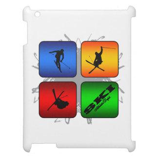 Amazing Ski Urban Style iPad Case