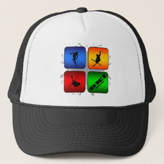 Amazing Ski Urban Style Trucker Hat