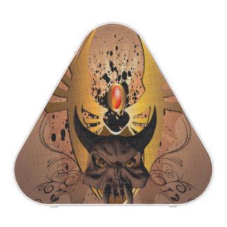Amazing skull speaker