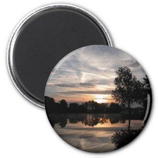 Amazing sky 2 inch round magnet