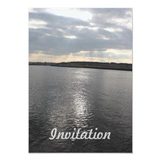 Amazing Sky with reflections in the River Invitati Invites