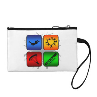 Amazing Skydiving Urban Style Coin Wallet