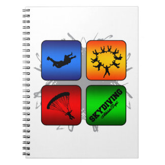 Amazing Skydiving Urban Style Notebook