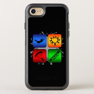 Amazing Skydiving Urban Style OtterBox Symmetry iPhone 7 Case