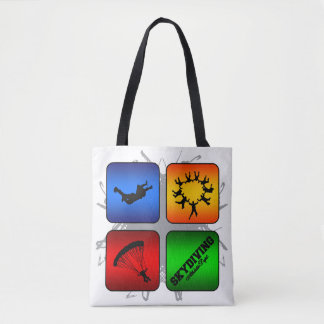 Amazing Skydiving Urban Style Tote Bag