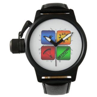 Amazing Skydiving Urban Style Wrist Watch