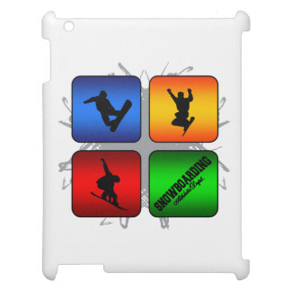 Amazing Snowboarding Urban Style Cover For The iPad