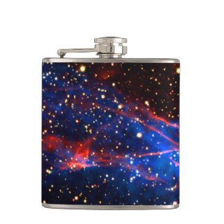 Amazing Space Hip Flask