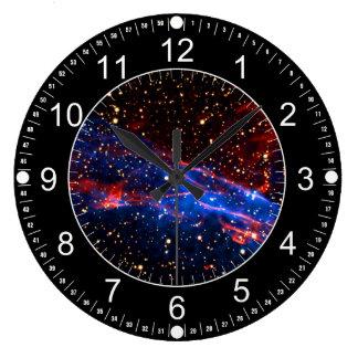 Amazing Space Large Clock