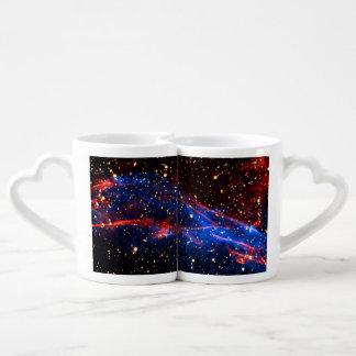 Amazing Space Couples' Coffee Mug Set