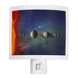 Amazing Space Solar System Night Light