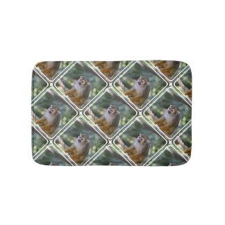 Amazing Squirrel Monkey Bathroom Mat