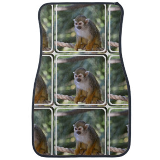 Amazing Squirrel Monkey Car Floor Mat