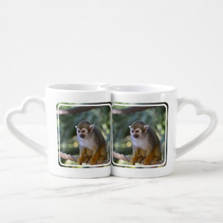 Amazing Squirrel Monkey Coffee Mug Set