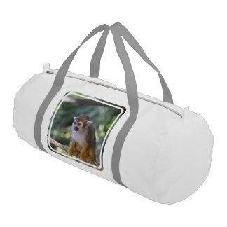 Amazing Squirrel Monkey Gym Bag