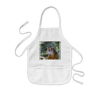 Amazing Squirrel Monkey Kids' Apron