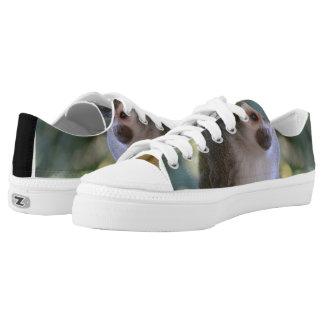Amazing Squirrel Monkey Low-Top Sneakers