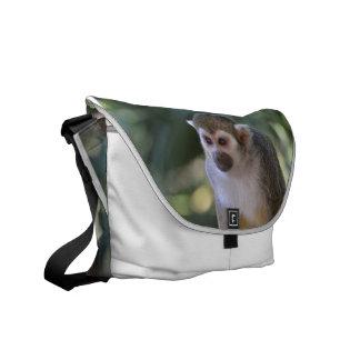 Amazing Squirrel Monkey Messenger Bag