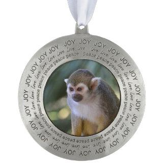 Amazing Squirrel Monkey Ornament
