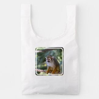 Amazing Squirrel Monkey Reusable Bag