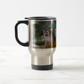 Amazing Squirrel Monkey Travel Mug
