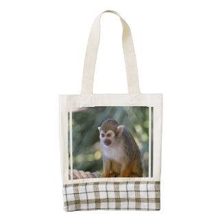 Amazing Squirrel Monkey Zazzle HEART Tote Bag