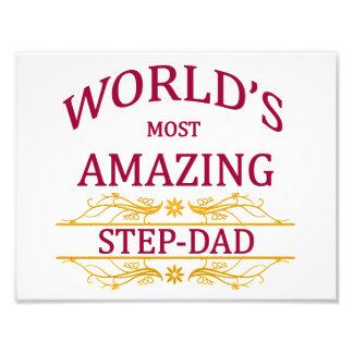 Amazing Step-Dad Photo Print