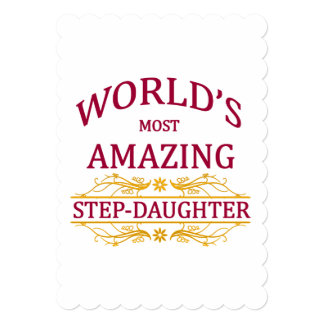 Amazing Step-Daughter Card