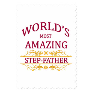 Amazing Step-Father Card