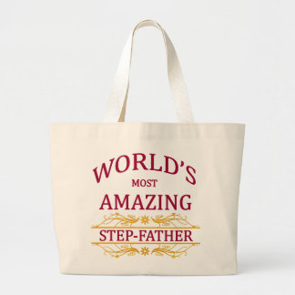 Amazing Step-Father Large Tote Bag