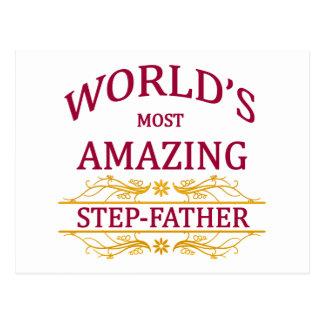 Amazing Step-Father Postcard