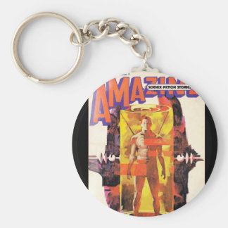 Amazing Stories_ July 1981_Pulp Art Keychain