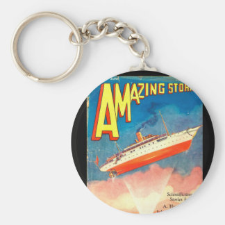 Amazing Stories - Jun 1930_Pulp Art Keychain