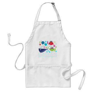 AMAZING SUMMER CREATURES EDITION ADULT APRON